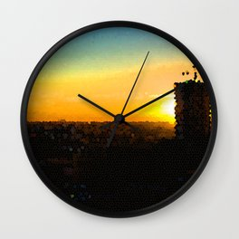 Welcome to Miami Wall Clock