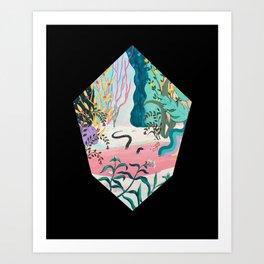 Portal View II Art Print