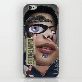 Strong Arms  - Vintage Collage iPhone Skin