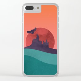 Hogwarts Summer Clear iPhone Case