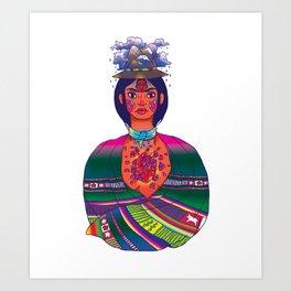 La Cholita: Para Siempre by Soledad Art Print
