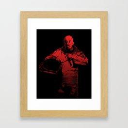 Cosmonaut Vlad Framed Art Print