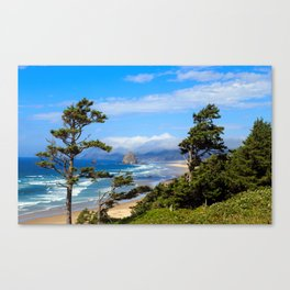 Country Beachside Canvas Print