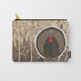 wild turkey & Indian corn Carry-All Pouch