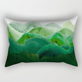 山秀谷 Rectangular Pillow