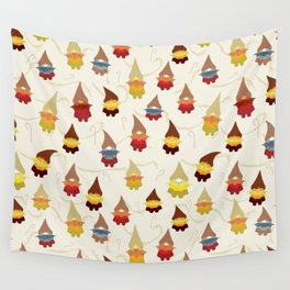 Gnome pattern 1d Wall Tapestry