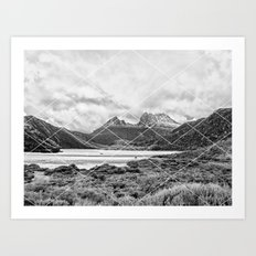 Mountain Geo Art Print