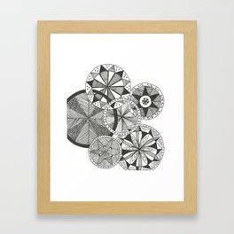 Wheels of Life Framed Art Print