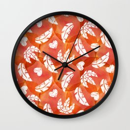 Wildly in love Wall Clock