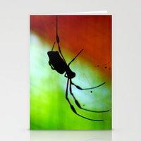 spider Stationery Cards featuring spider by lennyfdzz