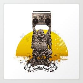 Buddha Funk Art Print