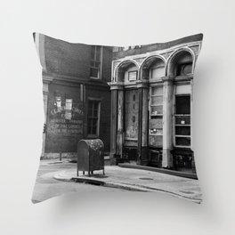 Philadelphia Streetlife Throw Pillow