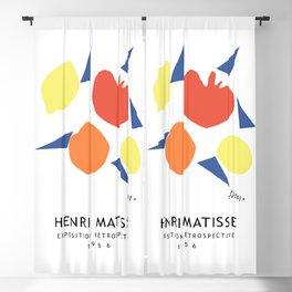 Henri Matisse Exposition Cover, 1956 Artwork Reproduction Blackout Curtain