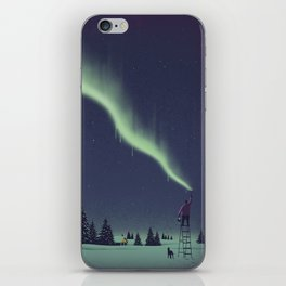 Winter Painting iPhone Skin