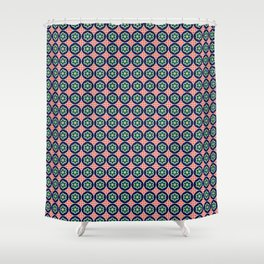 Iberian Mosaic Shower Curtain
