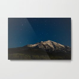 Mount Sopris & The Stars Metal Print