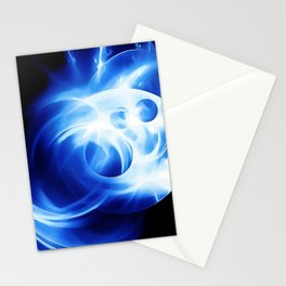 abstract fractals 1x1 reacc80c82 Stationery Cards