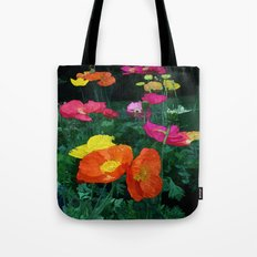 Poppies Two Tote Bag