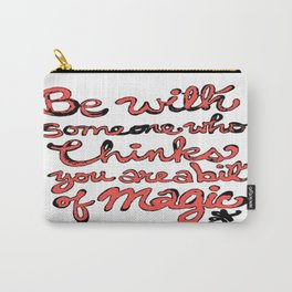 Be With Someone Peachy!!! Carry-All Pouch