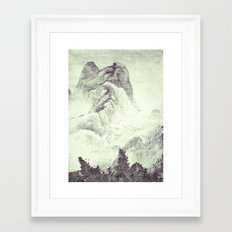 Looking back at Denjiro Framed Art Print