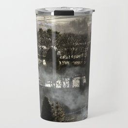 Farmland Fire Travel Mug