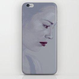 Allison Portrait iPhone Skin