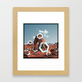 Infinity Drips Framed Art Print