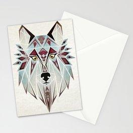 wild wolf Stationery Cards