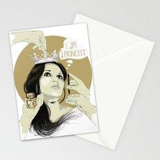 I am a princess Stationery Cards