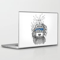 melbourne Laptop & iPad Skins featuring Melbourne by Raul Garderes
