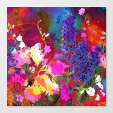Floral chaos Canvas Print