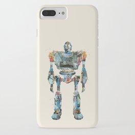 modern iron giant iPhone Case