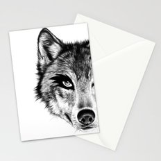 The Wolf Next Door Stationery Cards