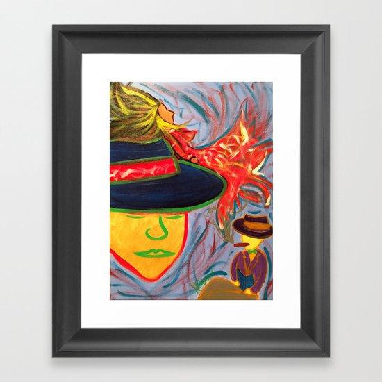 Matchmaker Framed Art Print