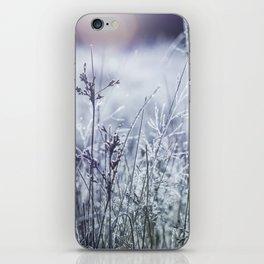 Frosty Fields iPhone Skin