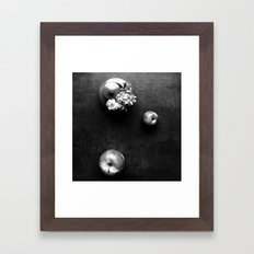 going to florist Framed Art Print