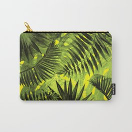 Tropical Leaves Aloha Jungle Garden Carry-All Pouch