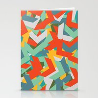 chevron Stationery Cards featuring Chevron by INDUR