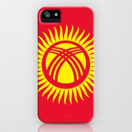 Kyrgyzstan Flag iPhone Case