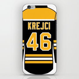 David Krejci Jersey iPhone Skin