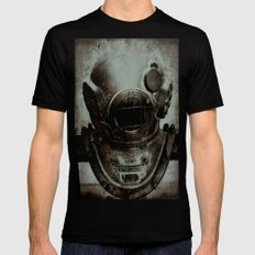 Captain Nemo Black X-LARGE Mens Fitted Tee