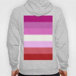 Lesbian Pride Flag Hoody