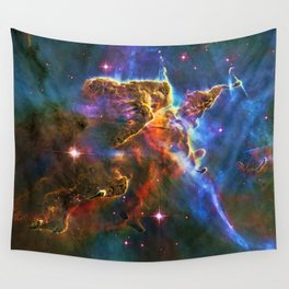 Mystic Mountain - Pillars of Creation Wall Tapestry