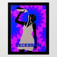 oil Art Prints featuring Oil by SECESSION
