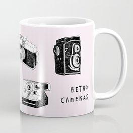 Mix Retro Cameras Coffee Mug