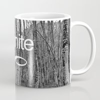 infinite Mugs featuring Infinite by Maria Lugilde