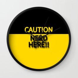 CAUTION NERD HERE!!! Wall Clock