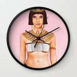 Queen Cleopatra Wall Clock