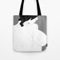 woman calm Tote Bag