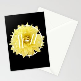 Trench Yellow Flower Stationery Cards